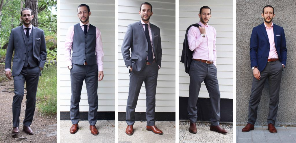 How To Wear A Grey Suit In 5 Different Ways