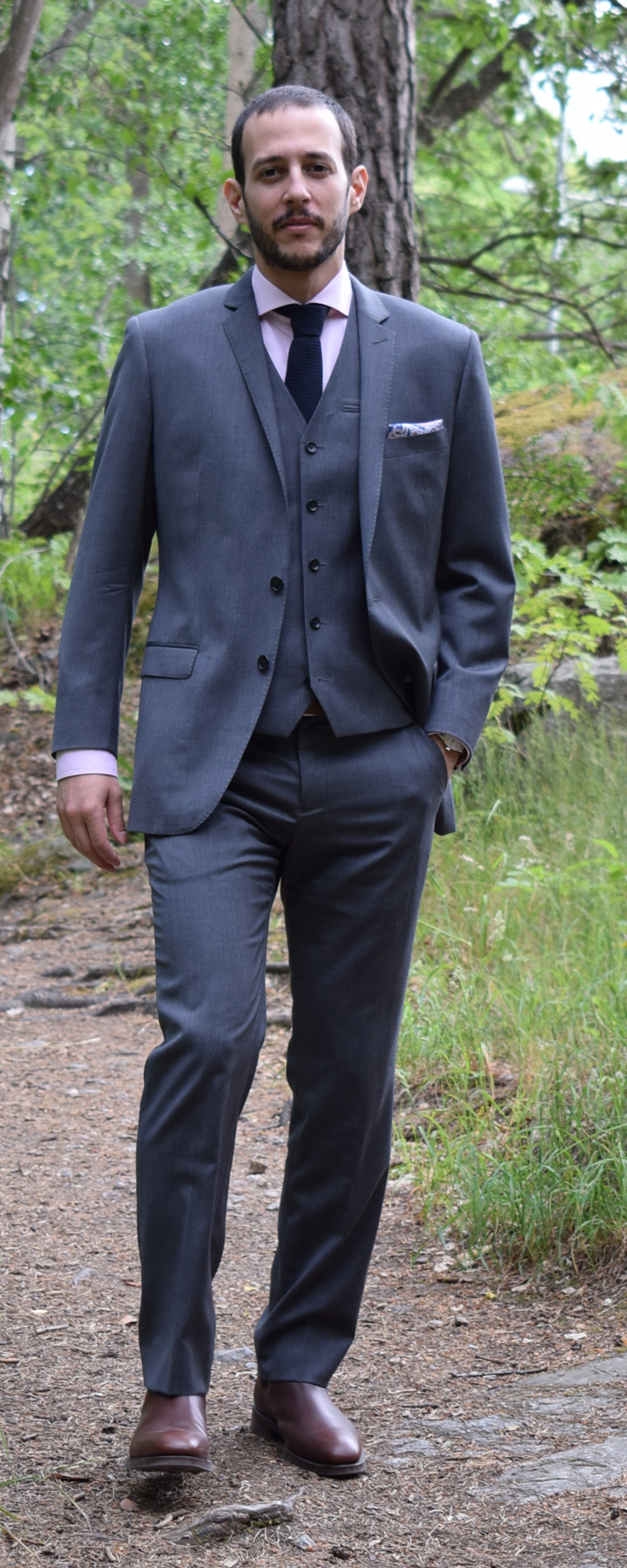 images 20 Ways to Wear Blue Suits with Brown Shoes Ideas for Men