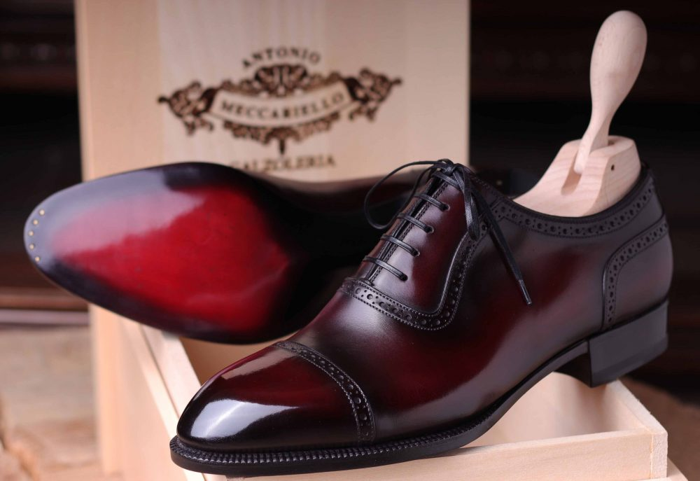 Dress Shoes Guide - Types Of Dress Shoes & 5 Wardrobe Essentials Antonio Meccariello Oxfords Antonio Meccariello Oxfords