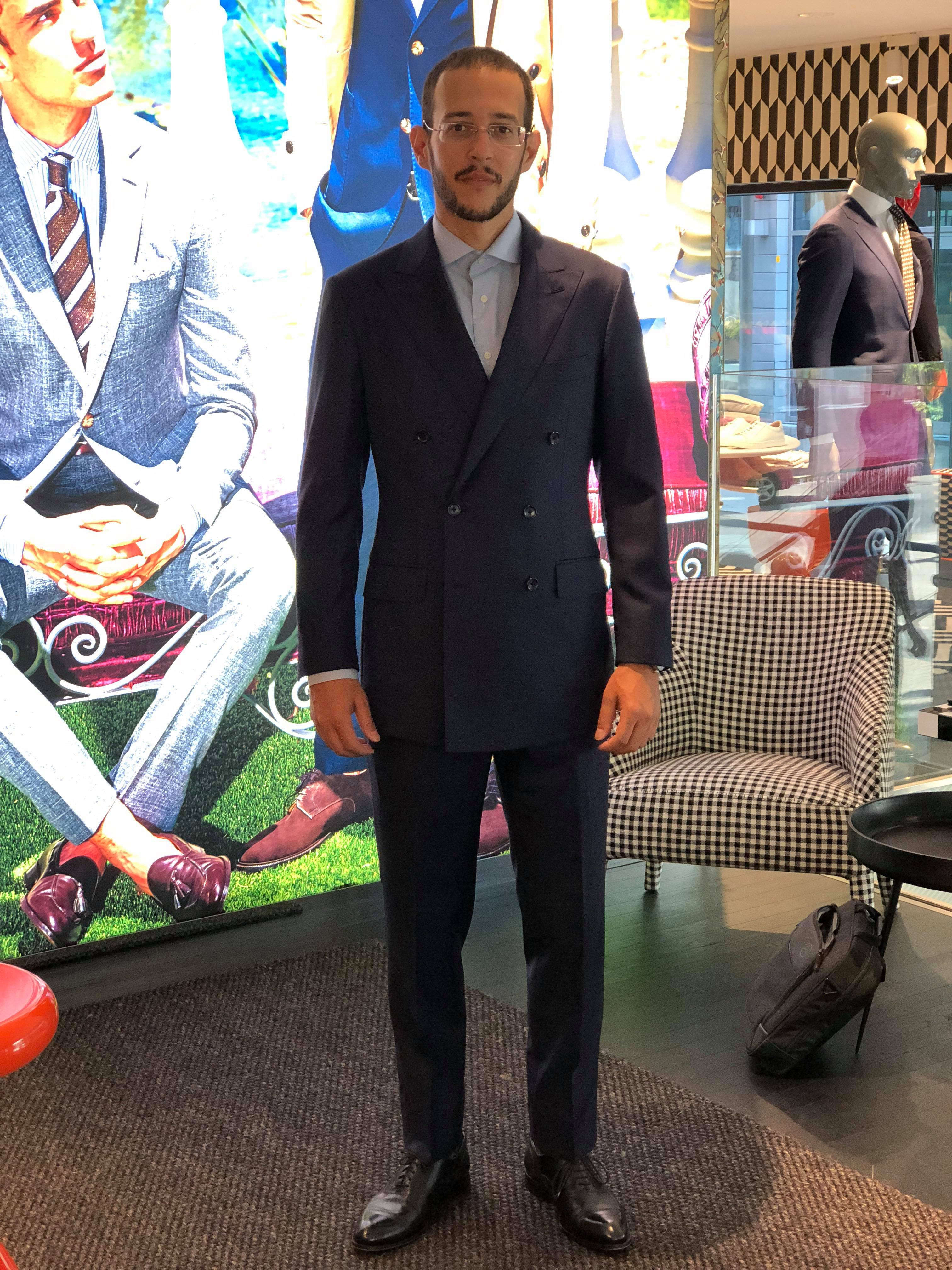 Suitsupply MTM Review: Double Breasted Navy Suit