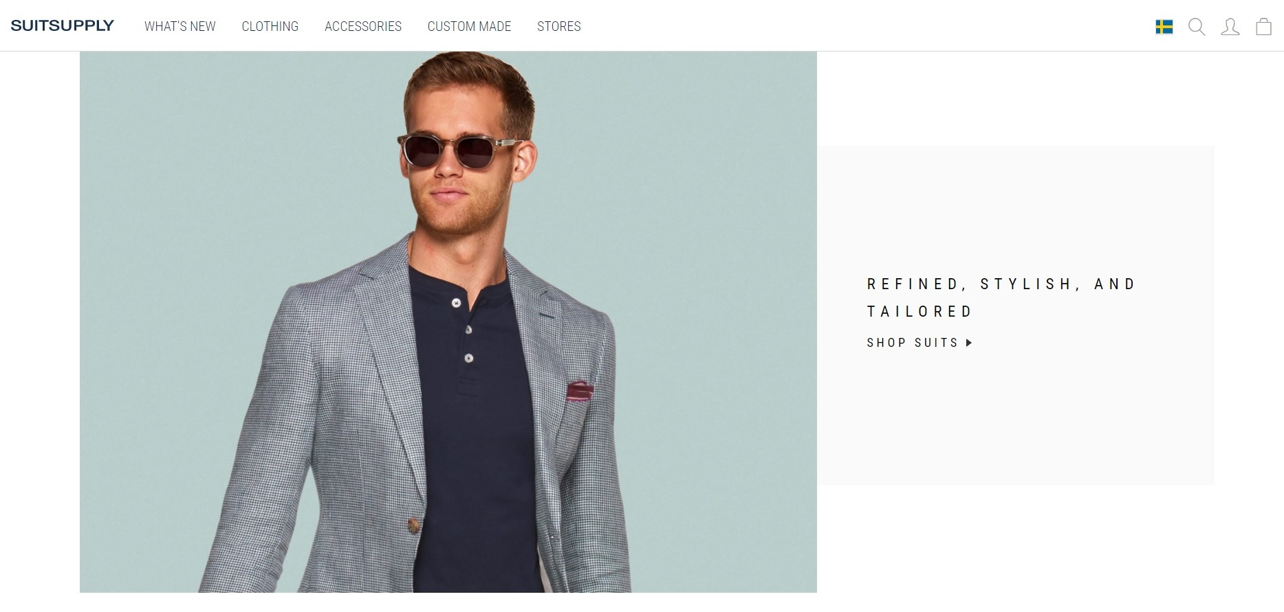 Best clothing shops in Stockholm - Suitsupply