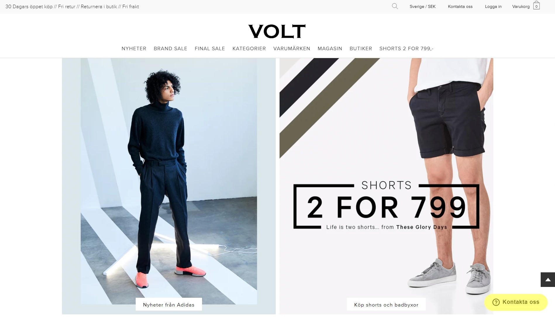 Best clothing stores in stockholm - Volt Fashion