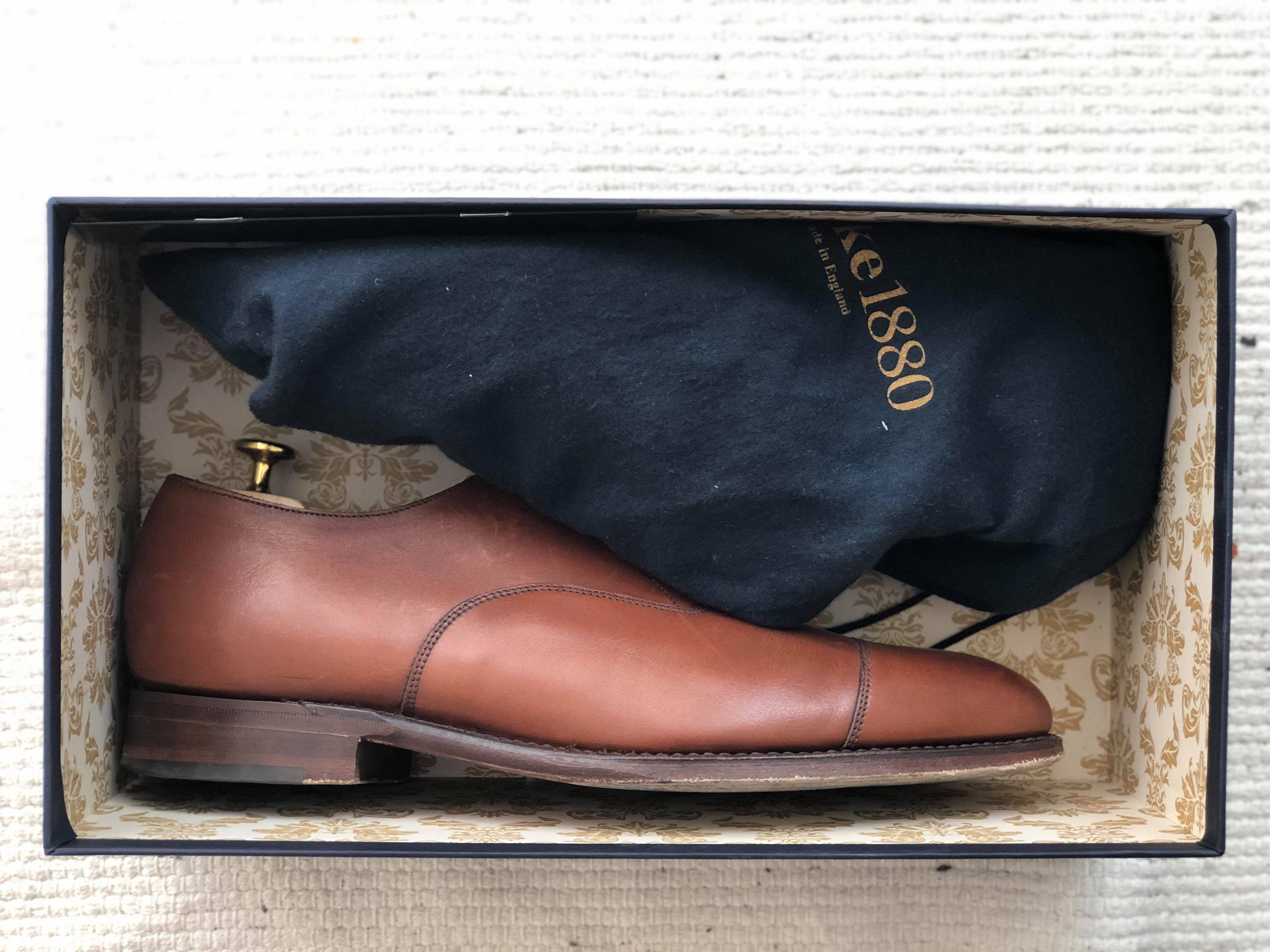 Loake 1880 Oxford Dark Aldwych Brown Review