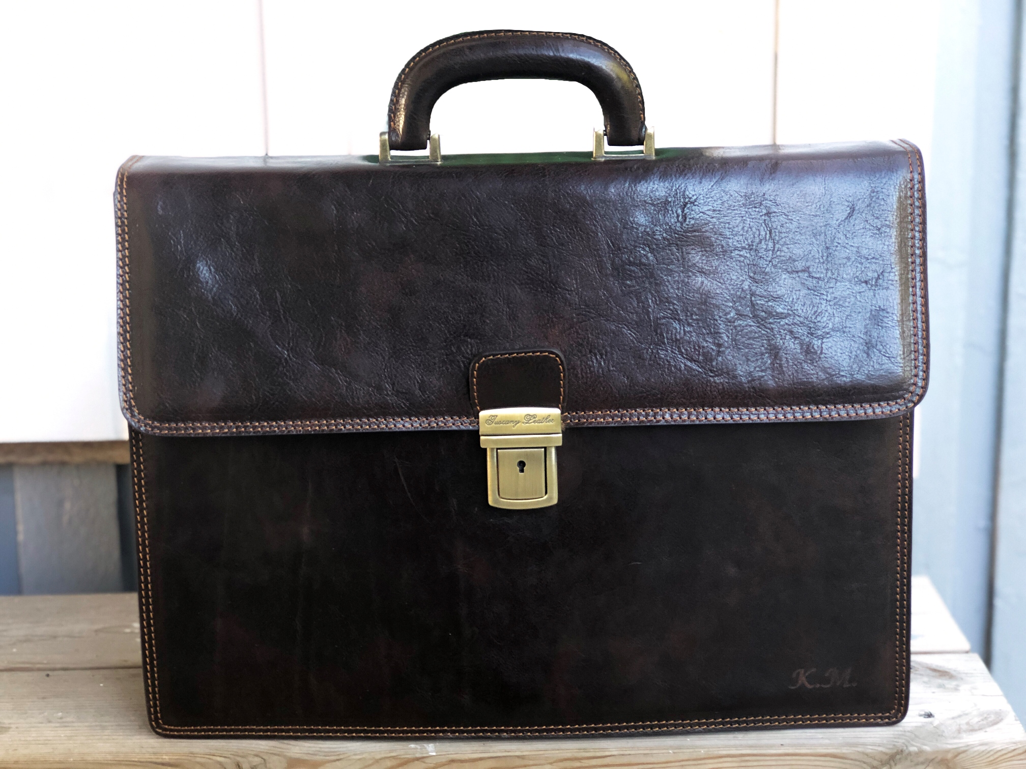 Tuscany Leather Briefcase Review