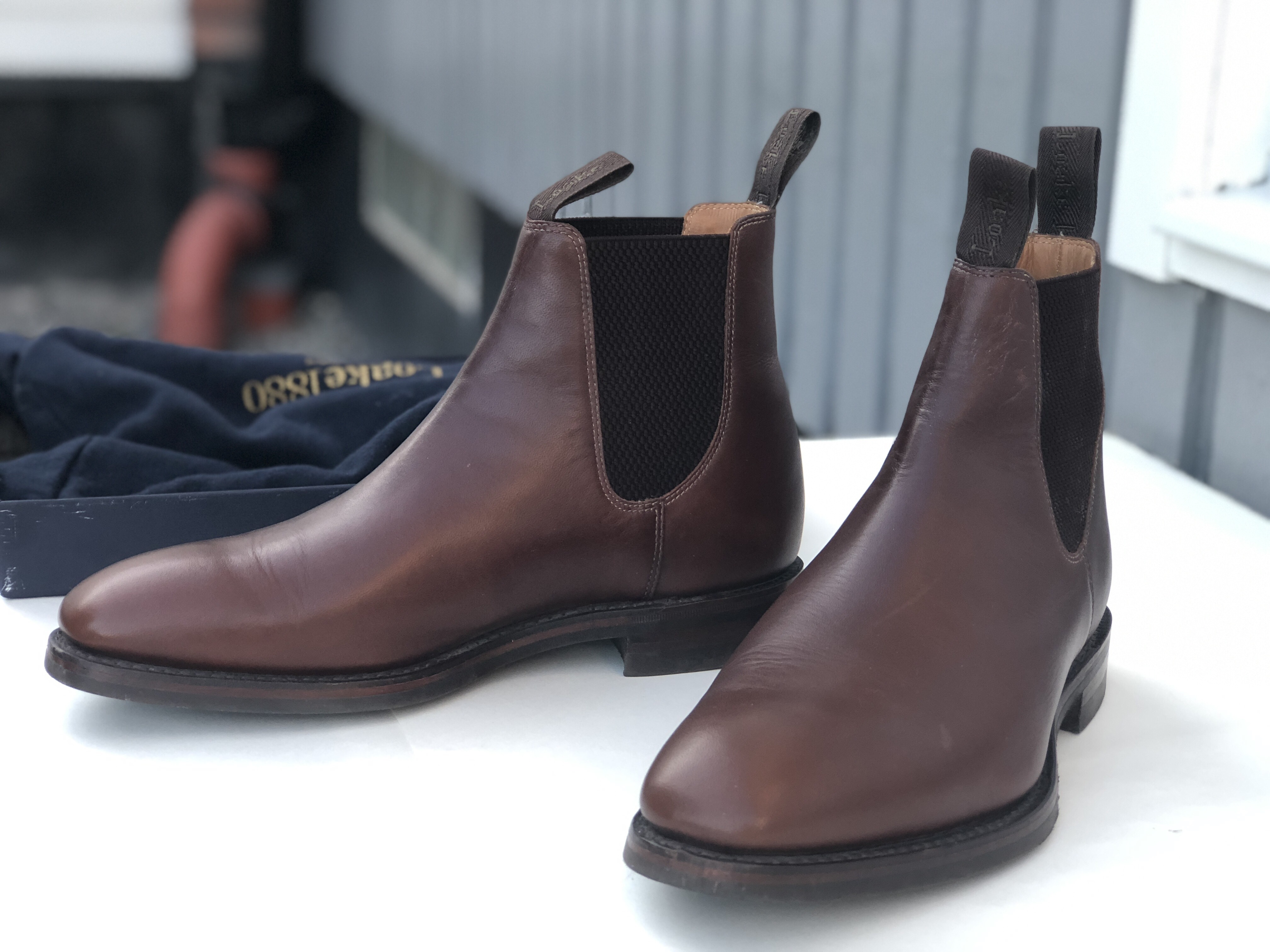 Loake 1880 Chatsworth Chelsea Boots in