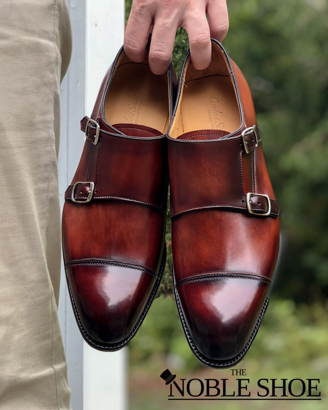 Carlos Santos Monks for The Noble Shoe