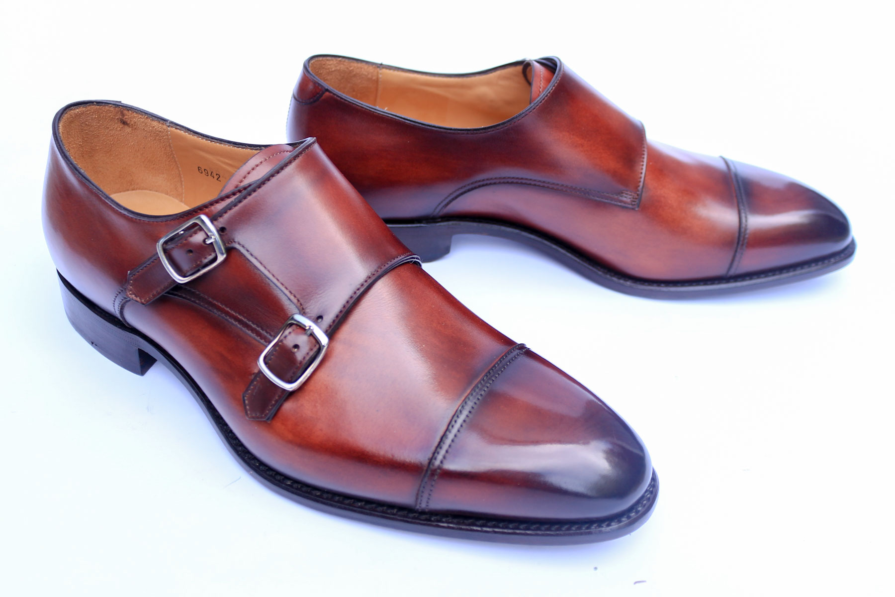 ganska billigt affär exklusiva skor Carlos Santos Shoes Review: Double Monk Straps In Wine Shadow Patina