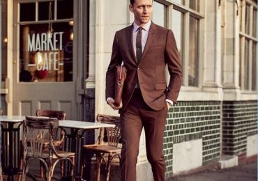 How to dress like Tom Hiddleston - Brown Suit