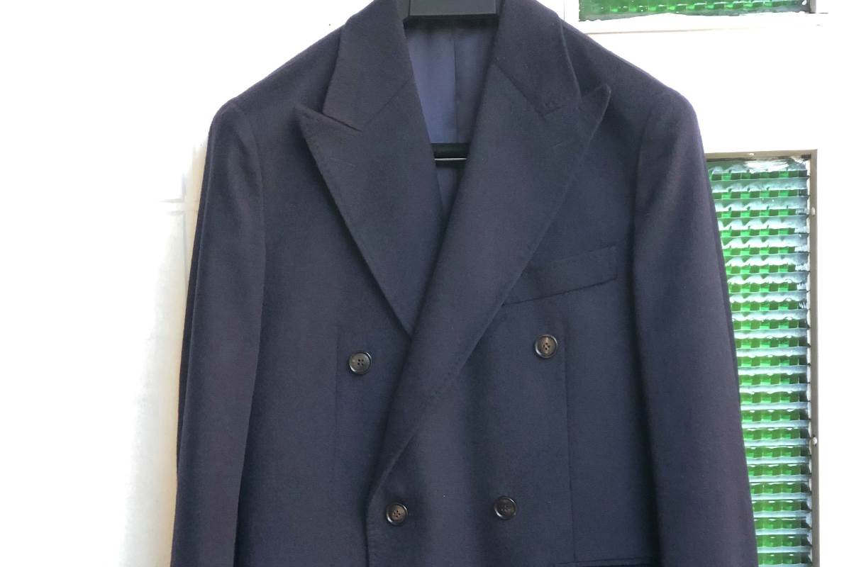 SUITSUPPLY NAVY PURE CASHMERE COAT REVIEW