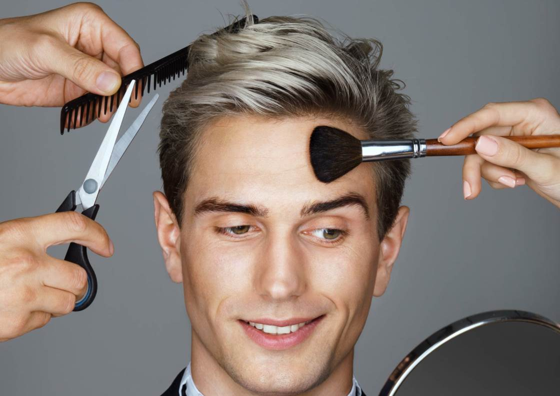 Best Grooming Tips - Man being groomed