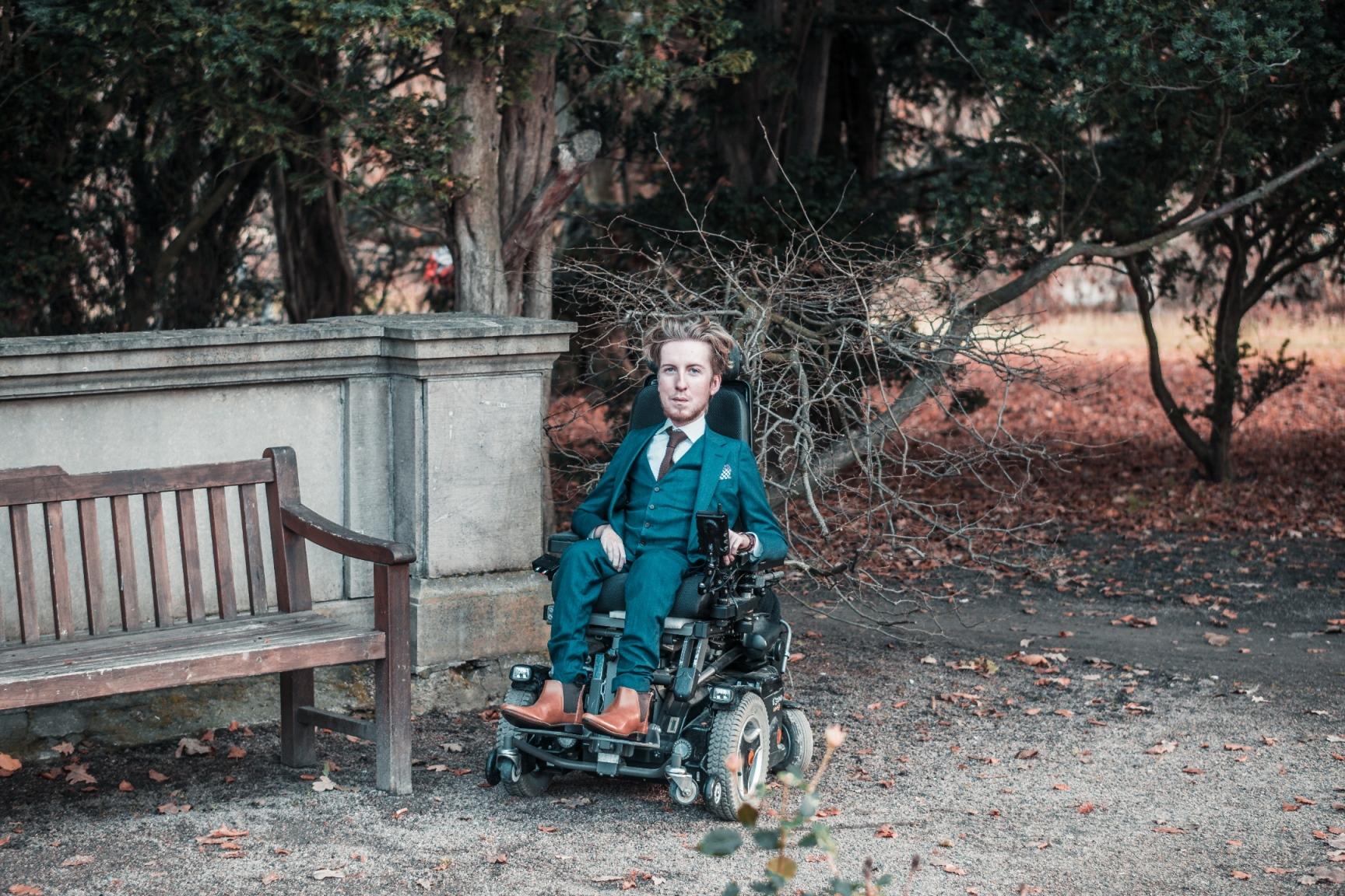 Emil Levin Interview - Sweden disabled fashion