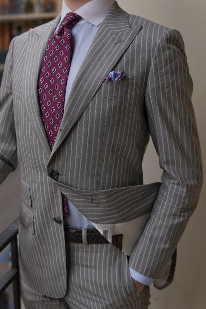 Quintessential Gentleman - Philippe.tk Striped Suit