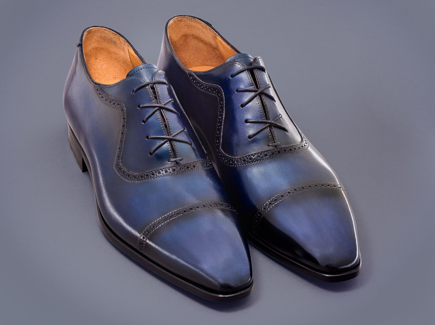 Best Dress Shoes For Men 2019 | Altan Bottier Pierrot Night Blue Oxford