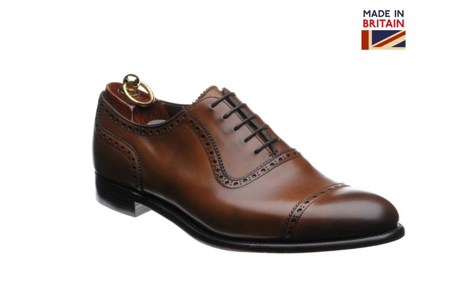 47fd5ab9bd6 Best Men s Dress Shoes 2019 - Herring Chamberlain Semi-Brogue Premier Line