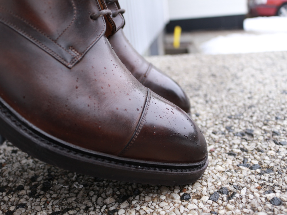 Carlos Santos Boots Review - Burnished Cap-Toe