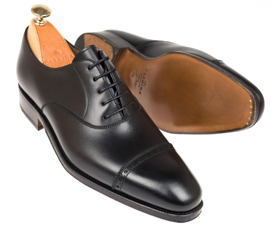 Best Dress Shoes For Men 2019 - Carmina Cap-Toe Oxfords