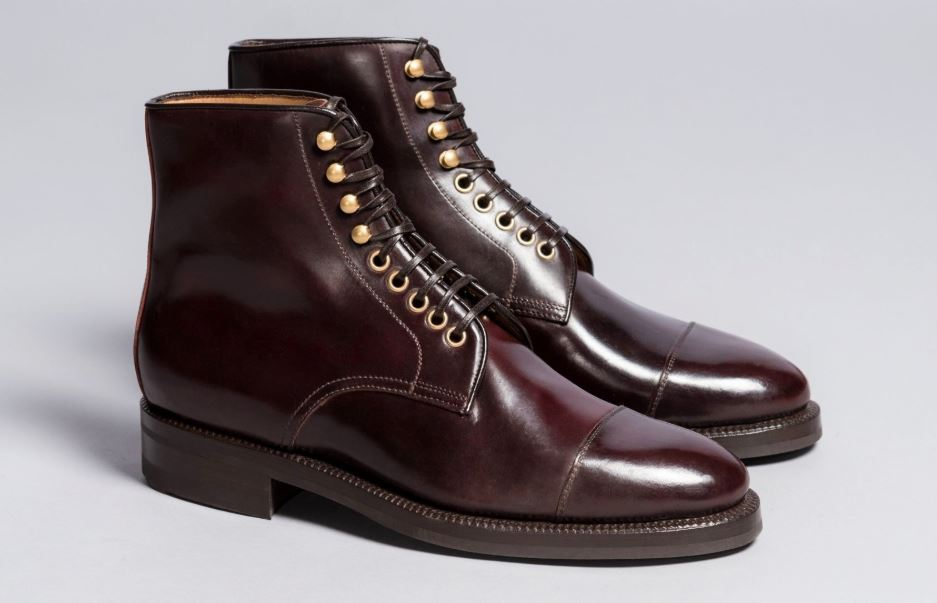 Enzo Bonafe Boots in Cordovan Color 8