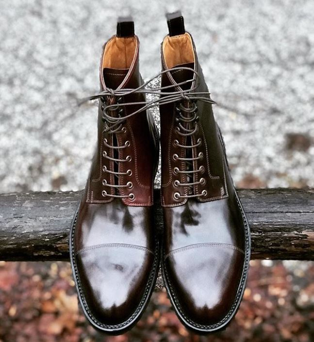 Zeb Shoes Shell Cordovan Boots