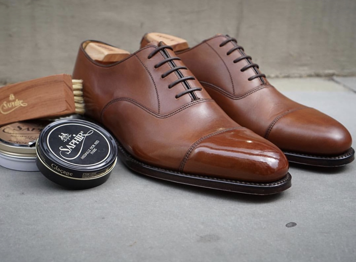 London Super Trunk Show - World Championship in shoe shining