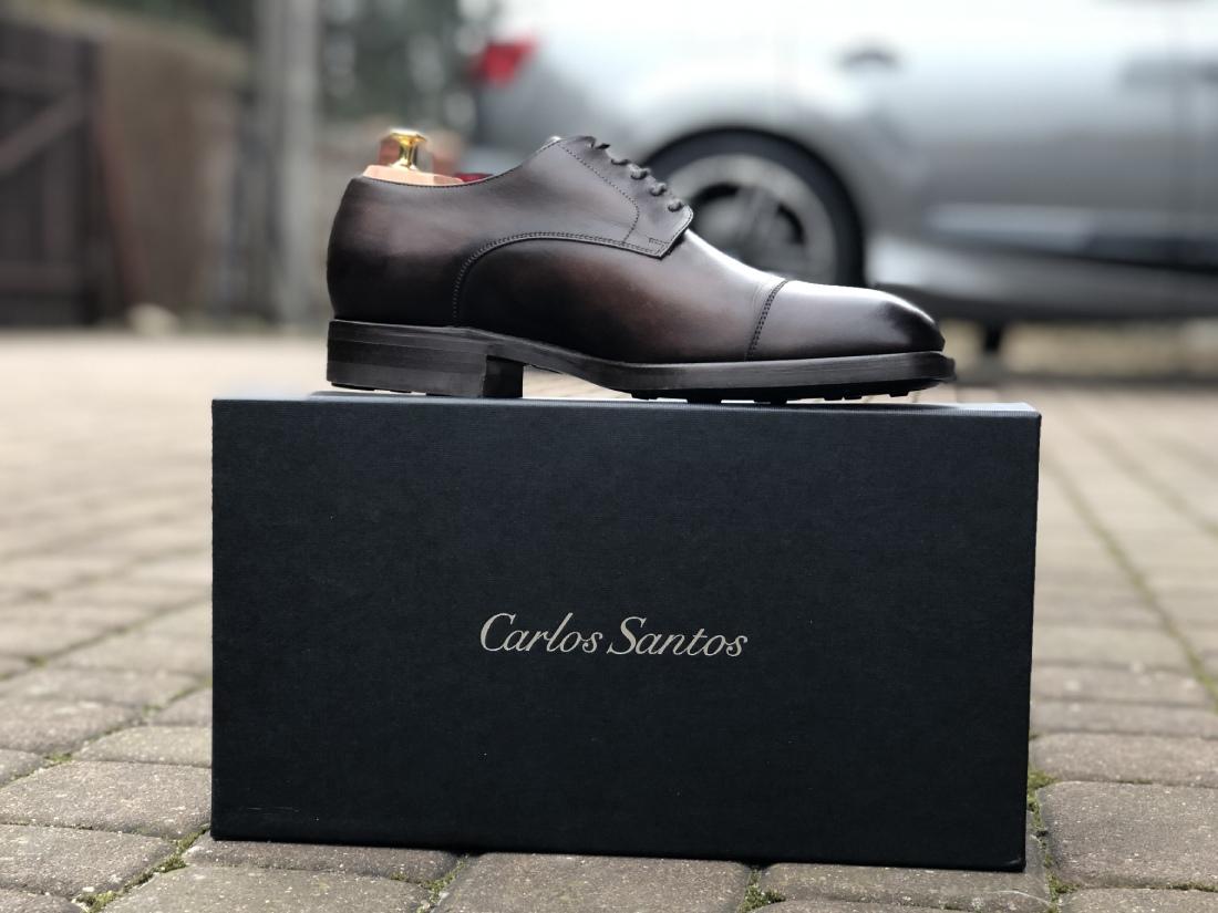 Carlos Santos 9381 Cap-Toe Derby Review in Coimbra