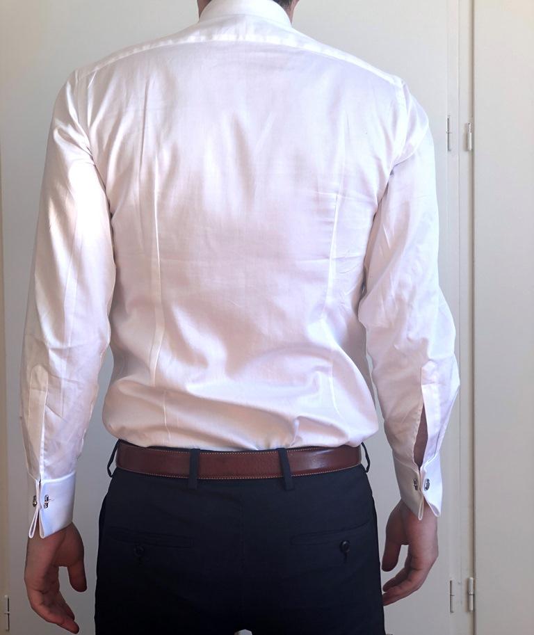 Tailor Lamb White Shirt Back View