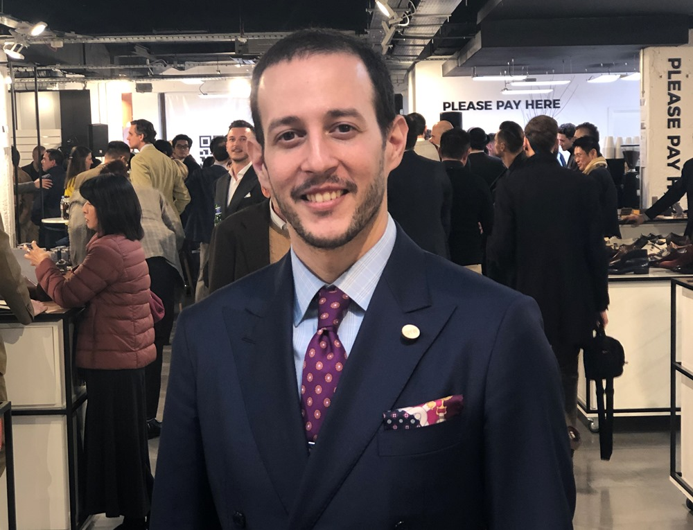 Kostas Mandilaris at the London Super Trunk Show 2019