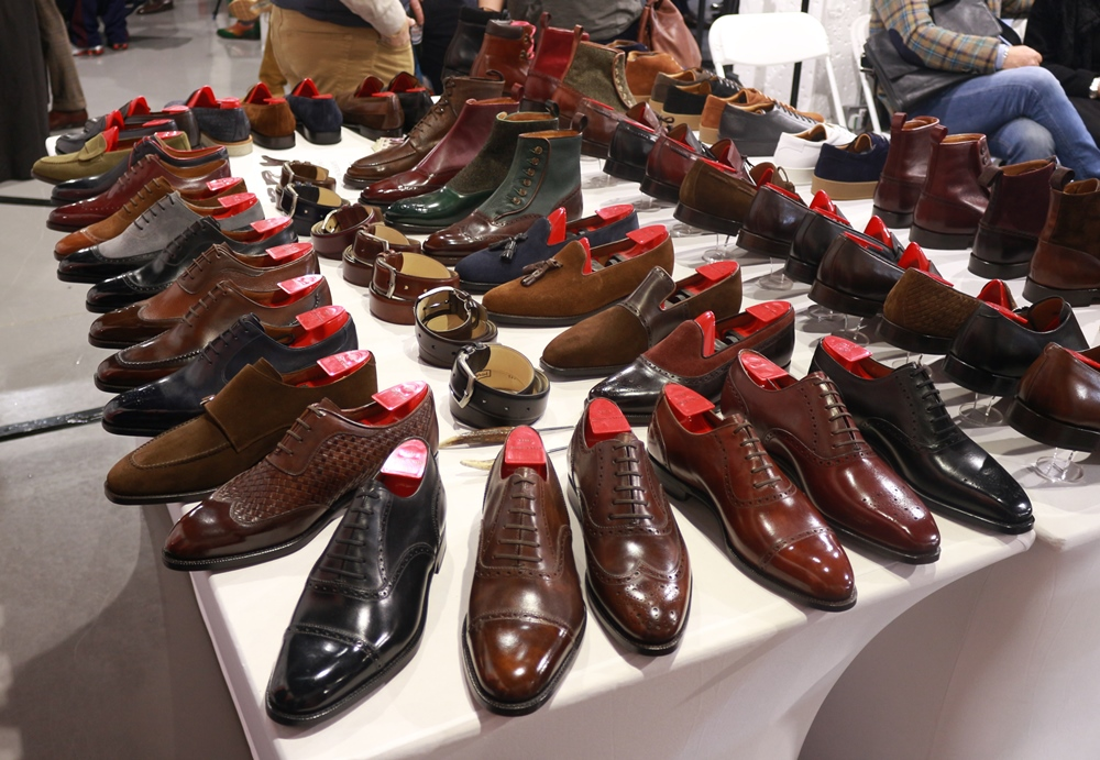 J.Fitzpatrick Footwear at the London Super Trunk Show 2019