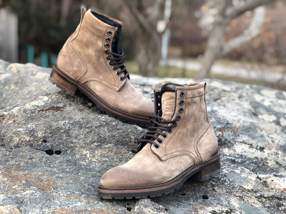 Project TWLV Review - Royal Logger Boot in Sand Suede