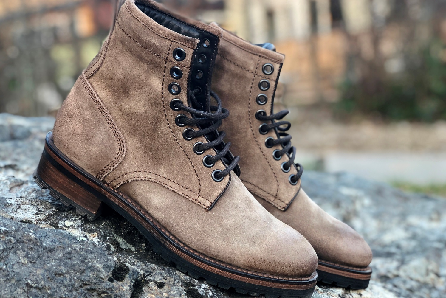 PROJECT TWLV ROYAL LOGGER BOOT IN SAND SUEDE REVIEW