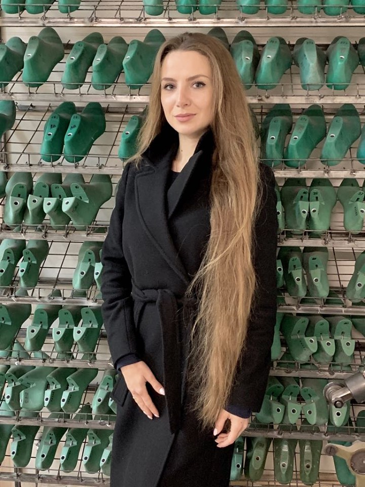 Nataliia Sergeeva of Vicelli Shoes
