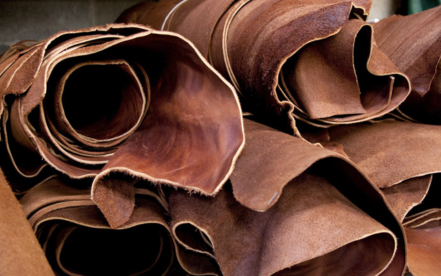 DFIFERENT TYPES OF SHOE LEATHER