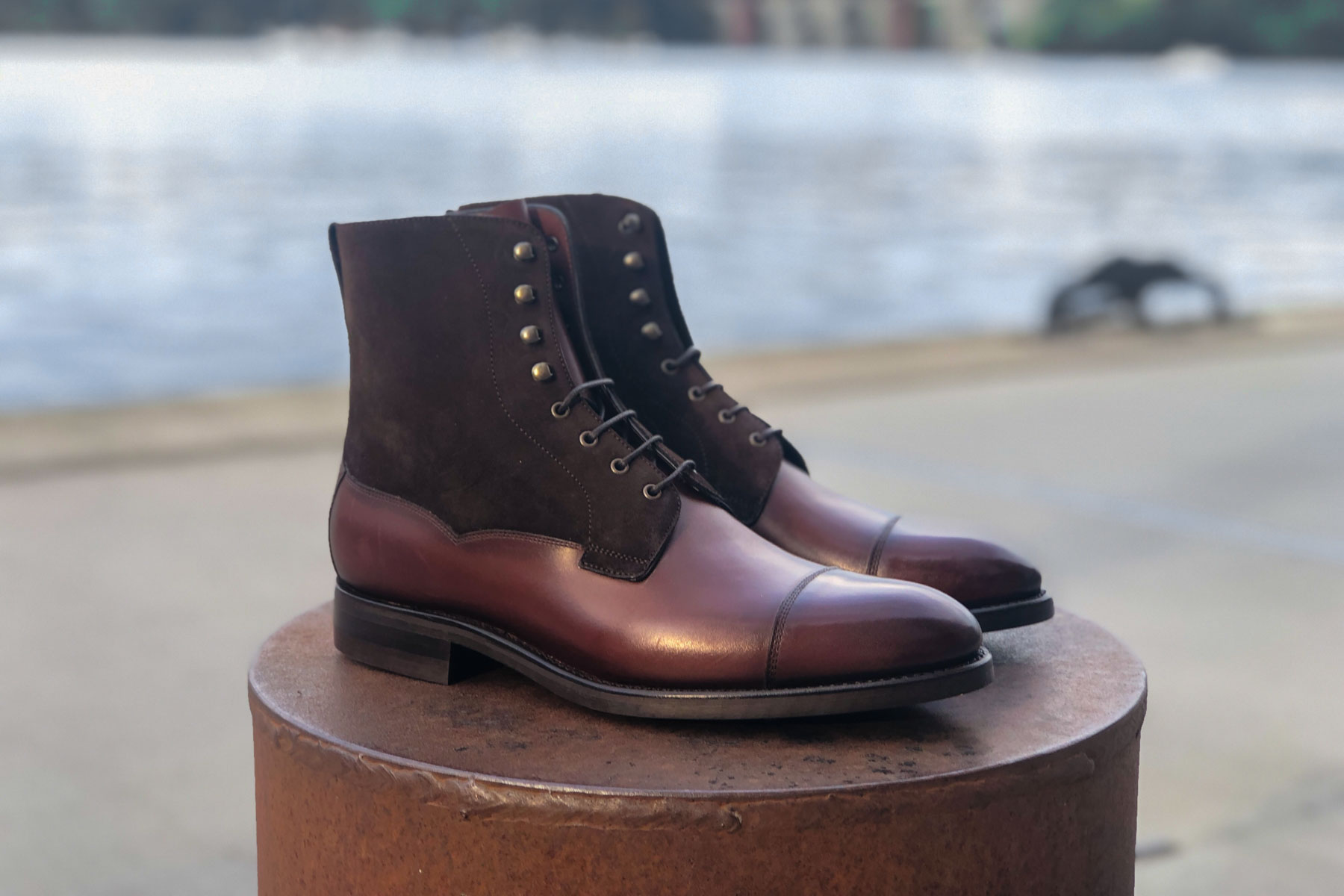 Carlos Santos 9156 Review | Stunning Field Boots In SuedeCalf