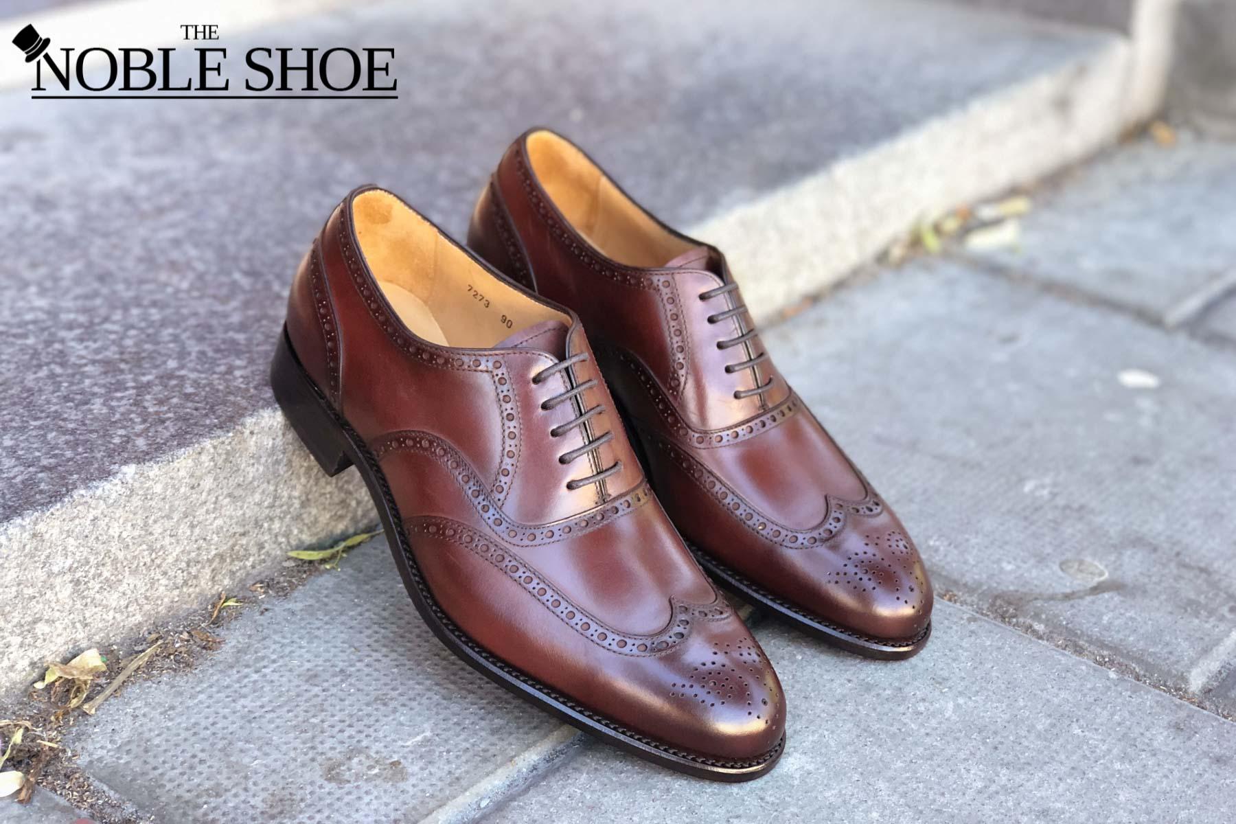 bäst älskade ansedd webbplats stor rabatt Carlos Santos Wingtip Oxford in Brown Calf Review | The Noble Shoe