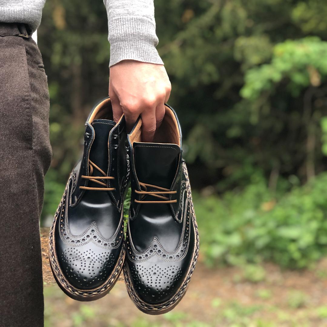 Heinrich Dinkelacker Review | Buda C Full Brogue Cordovan Boot