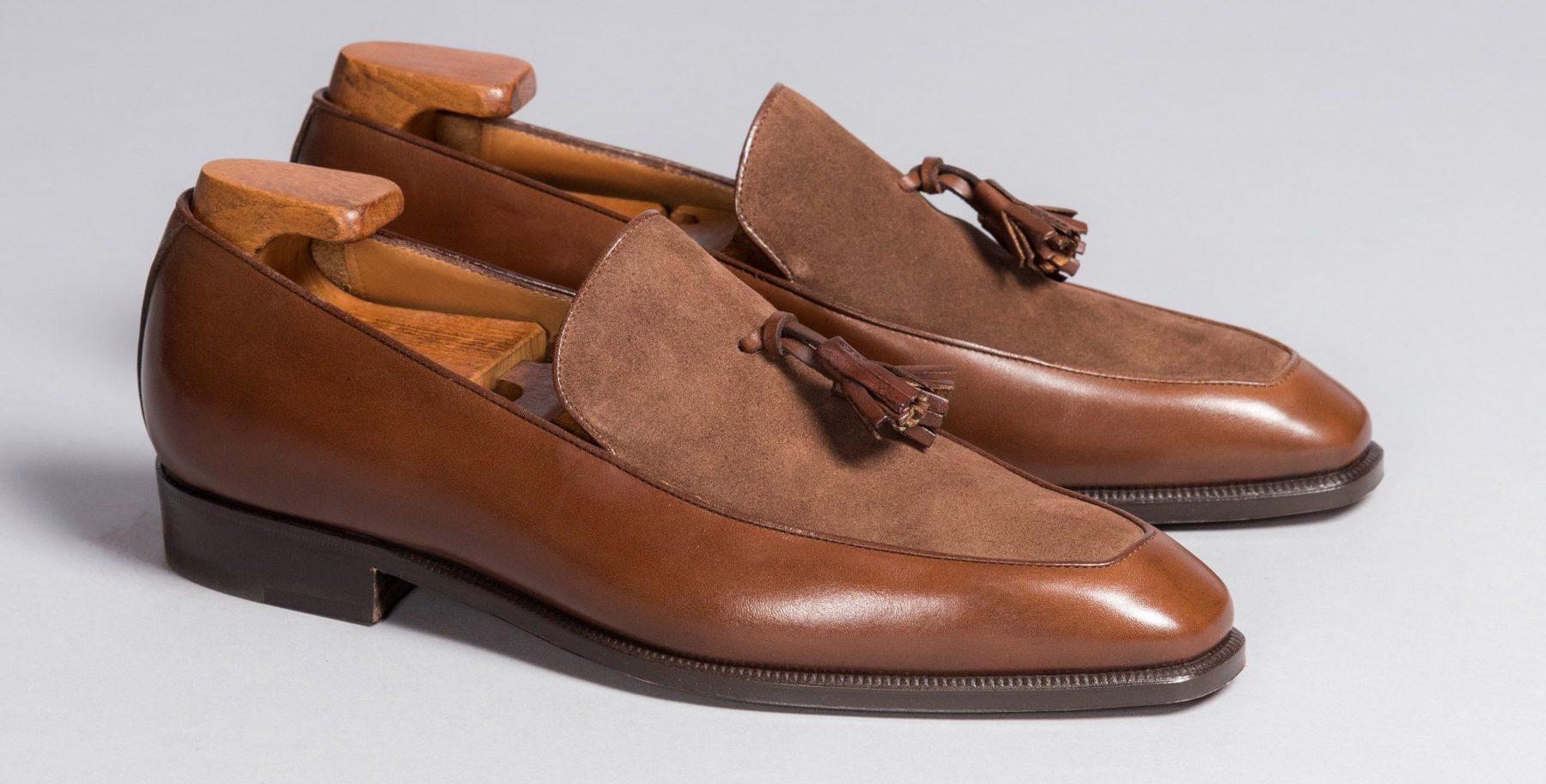 Enzo Bonafe Two Tone Loafer