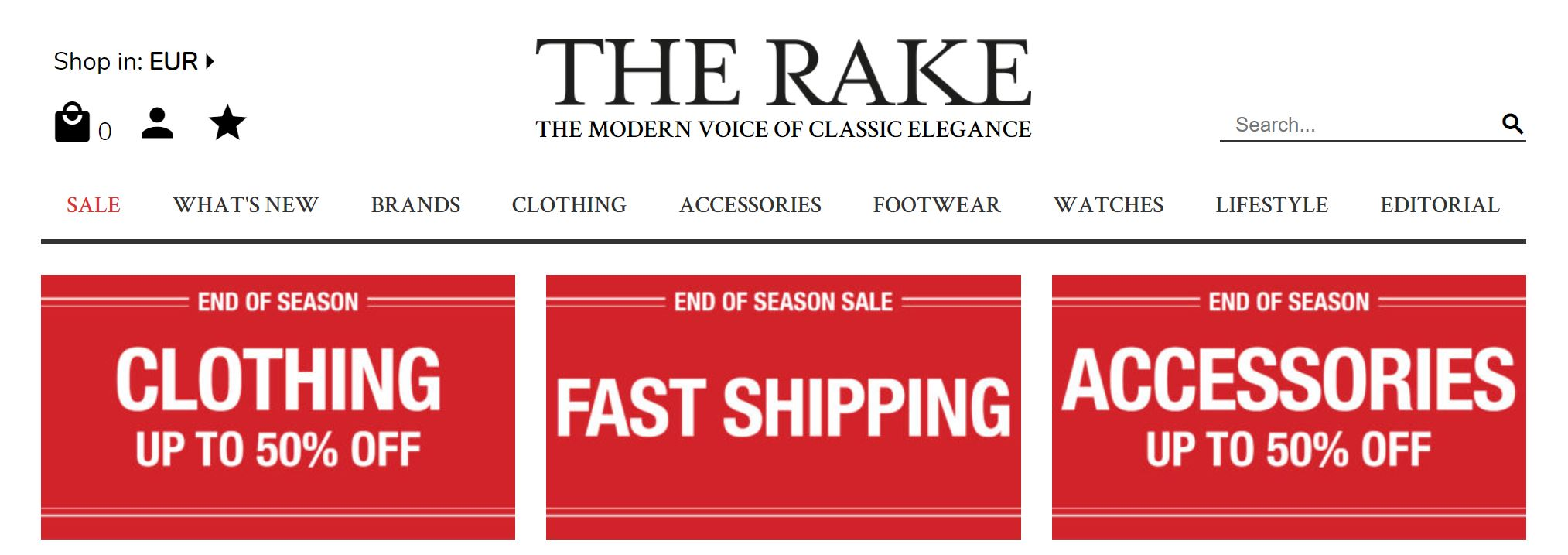 Men's Summer Sales 2019 - The Rake