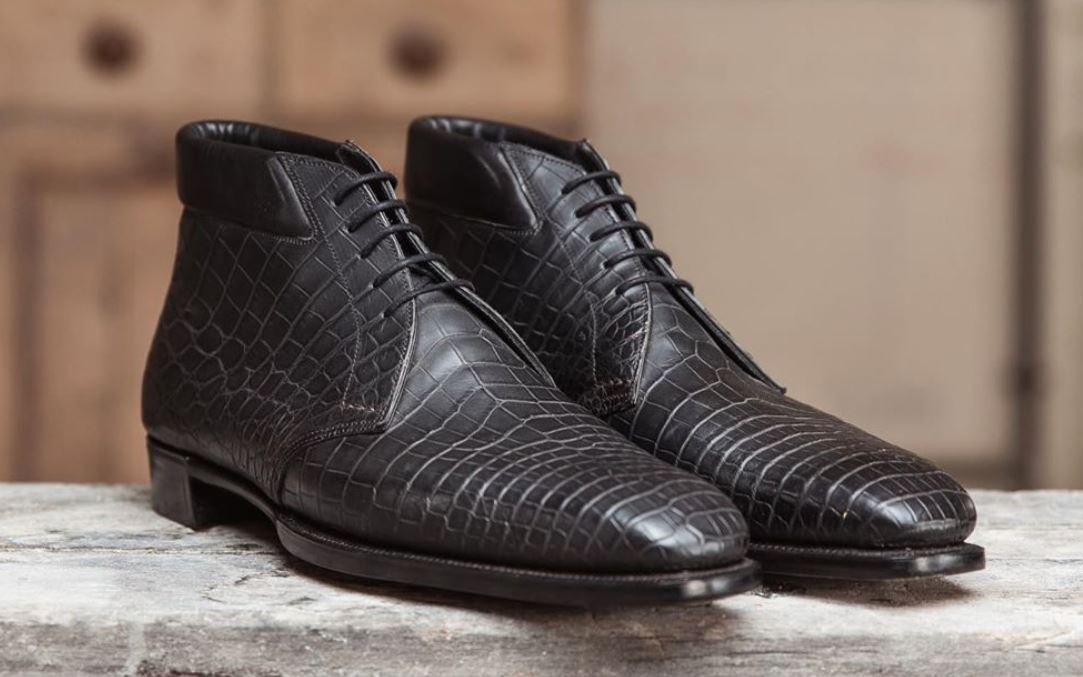 George Cleverly Alligator Chukkas