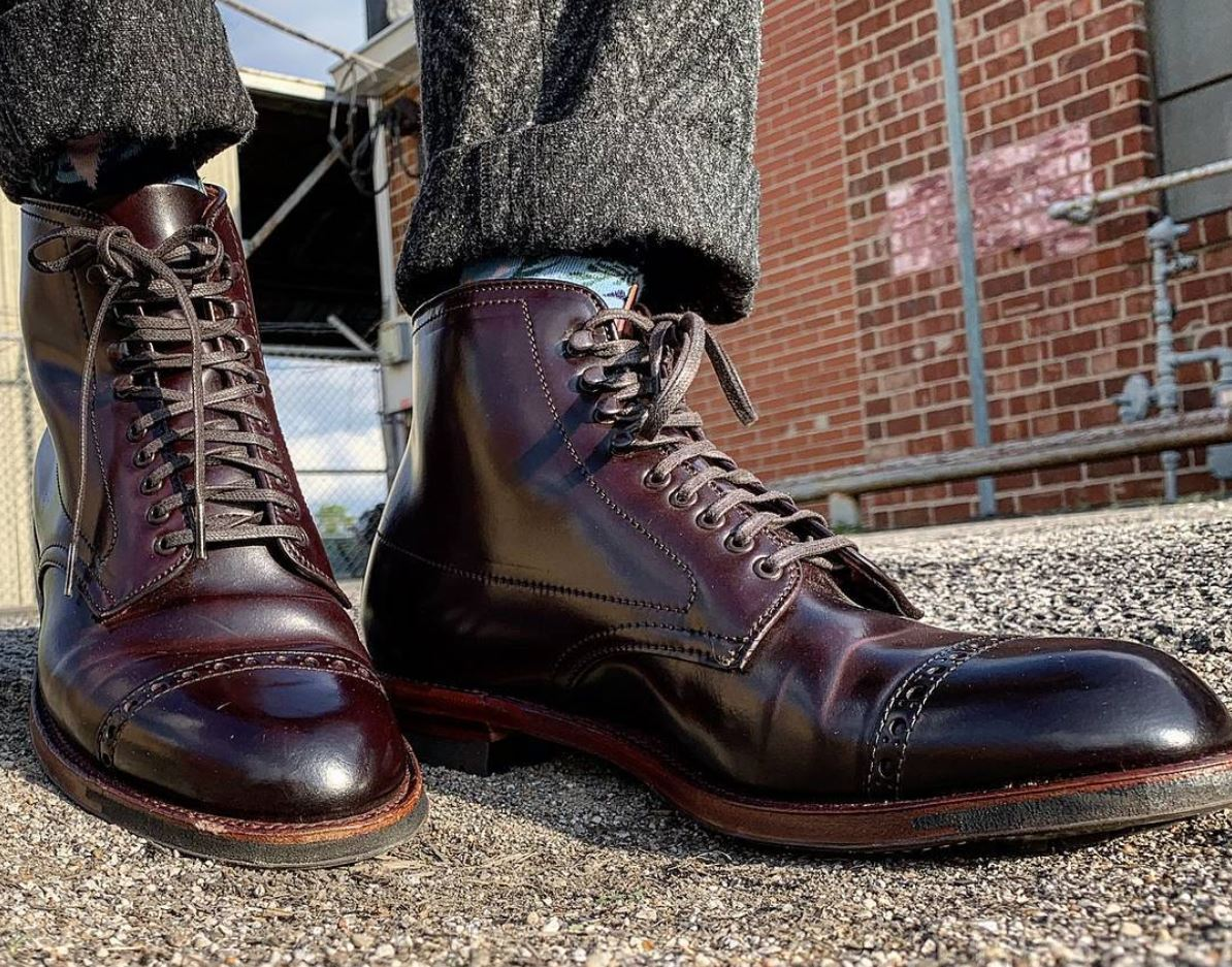 Best Formal Shoe Brands - Color 8 Shell Cordovan Jumper Boot, Trubalance Last