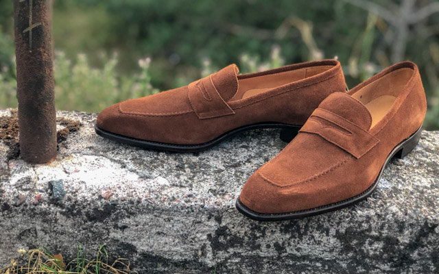 CARLOS SANTOS 9780 SUEDE LOAFERS REVIEW