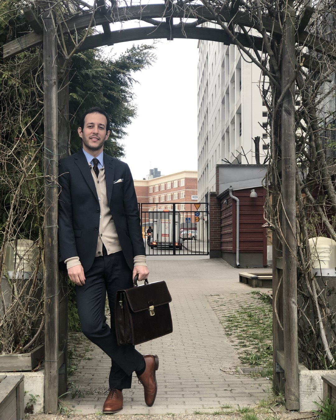 Soft Goat Cashmere Review - Cardigan Business Outfit
