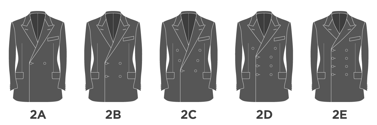Double Breasted Suit Variations