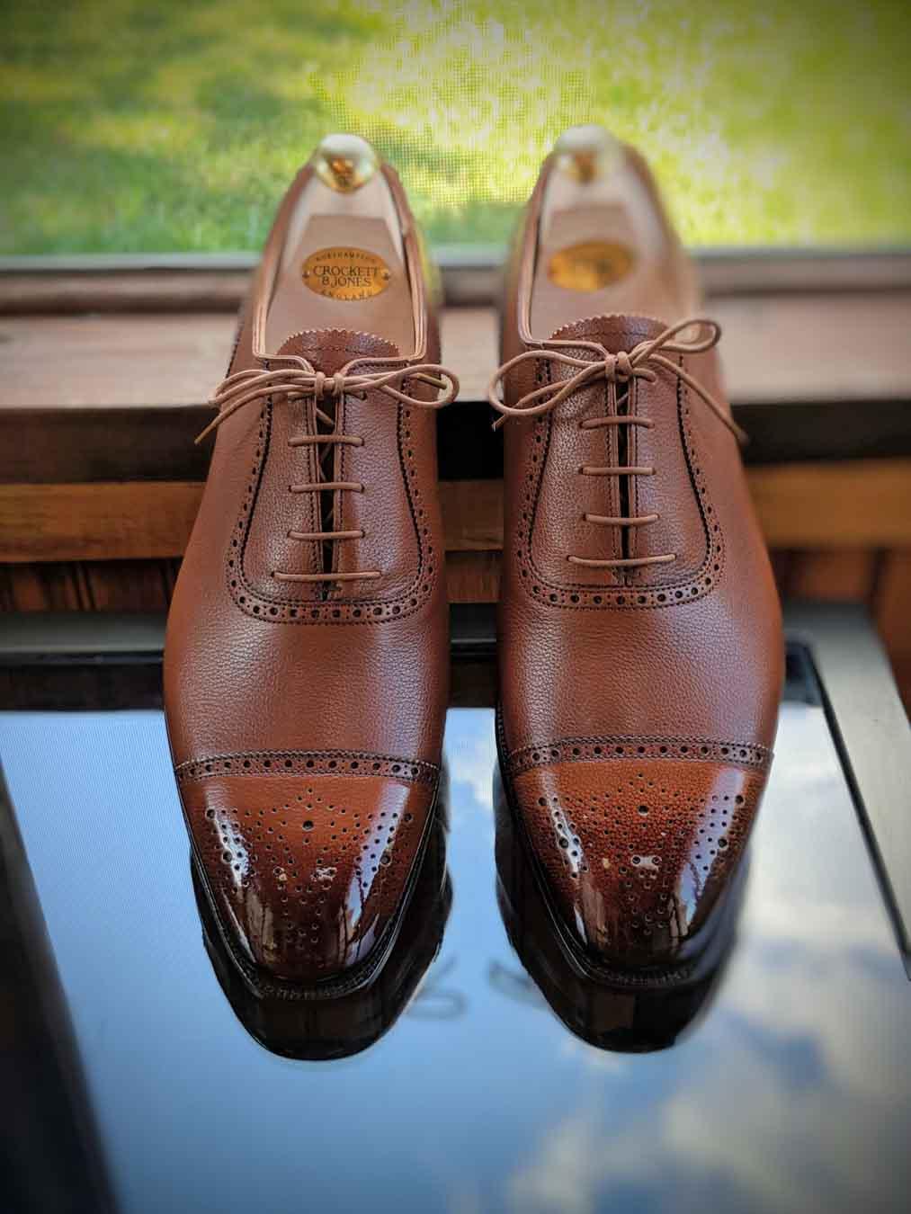mbshoedoc shoe patina and shining