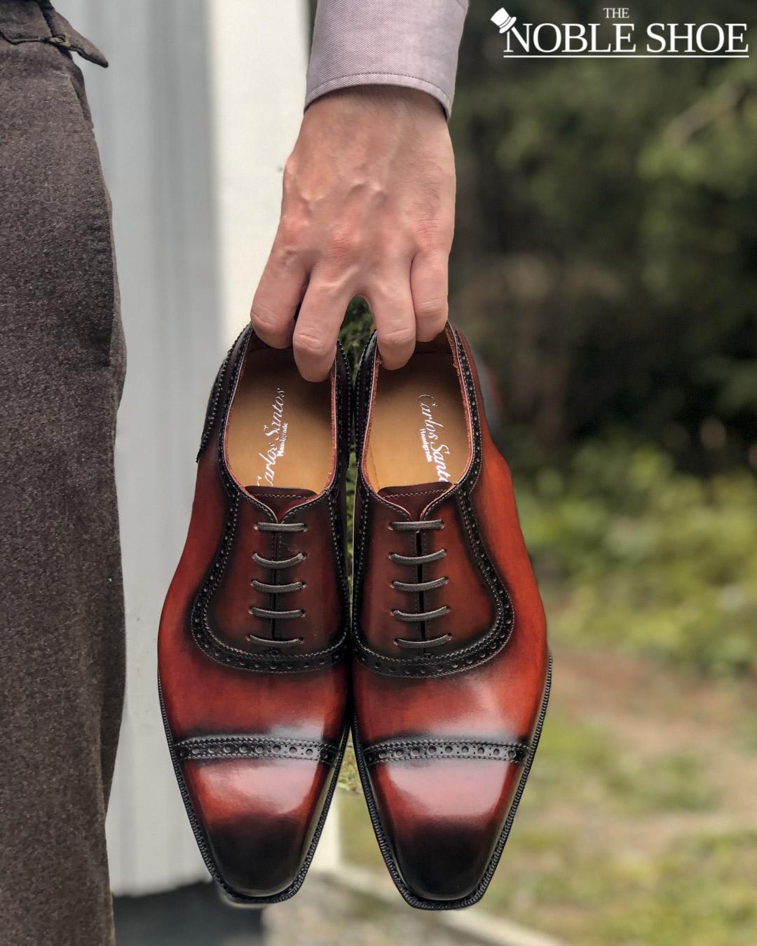 The Noble Shoe Handgrade Adelaide in Wine Shadow
