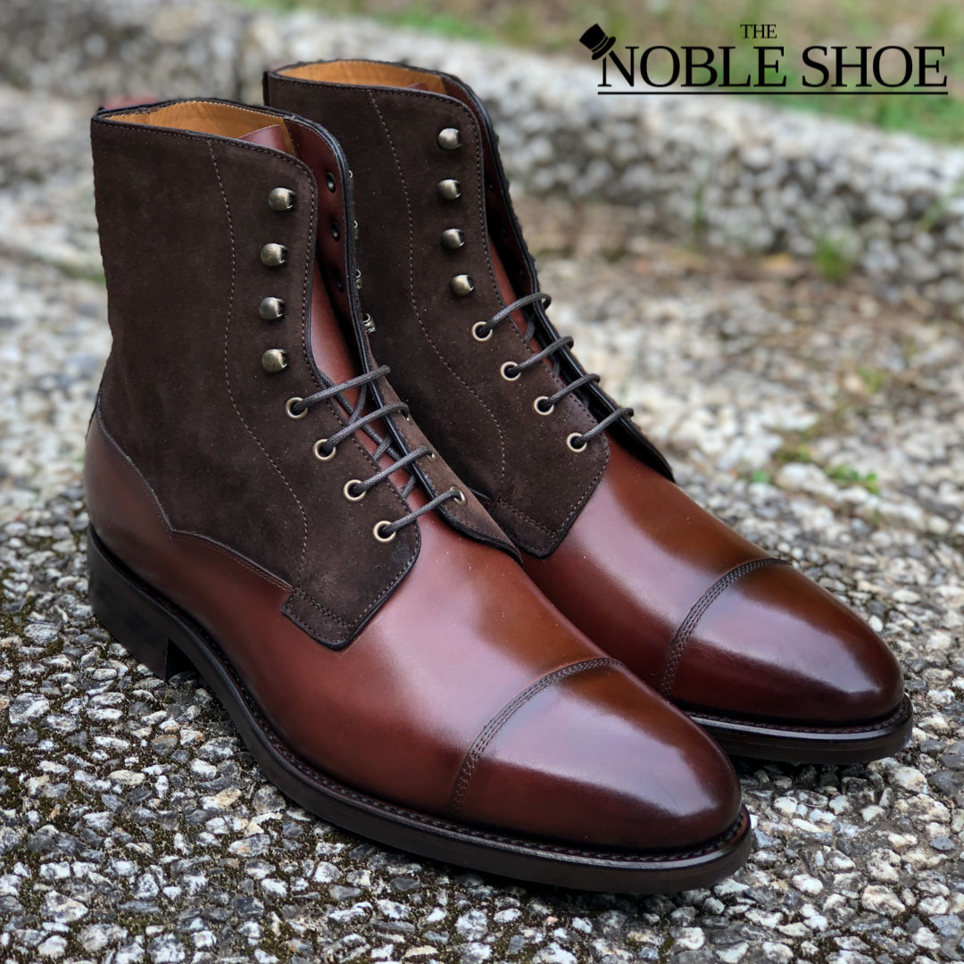 CS 9156 Field Boot Suede/Calf The Noble Shoe