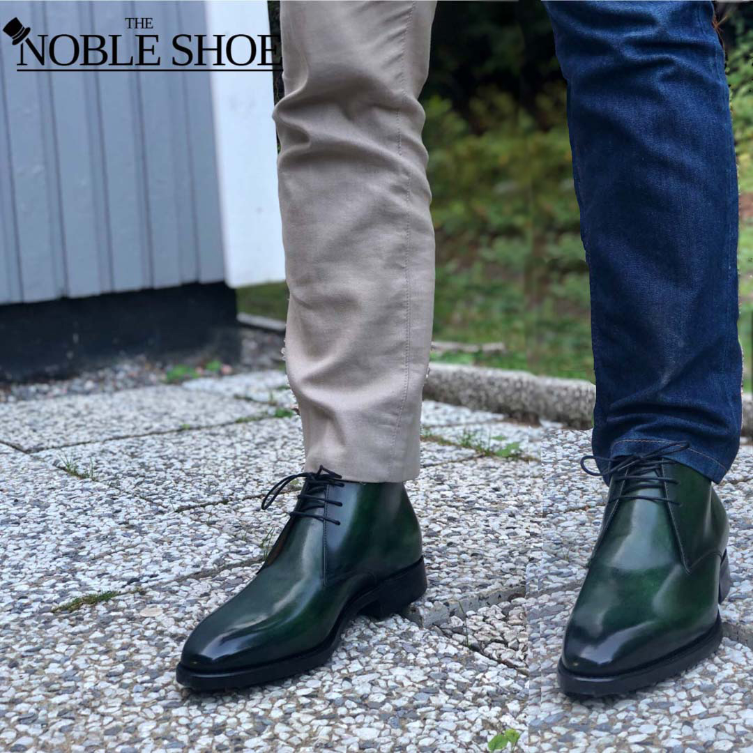 The Noble Shoe Carlos Santos Chukkas in Sintra Review