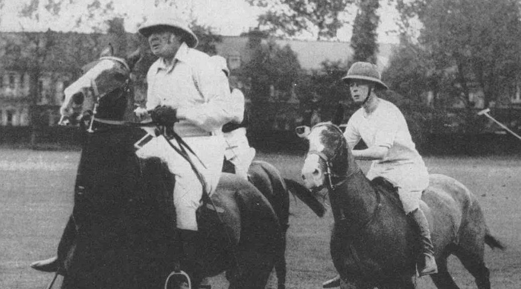 Prince of Wales playing Polo