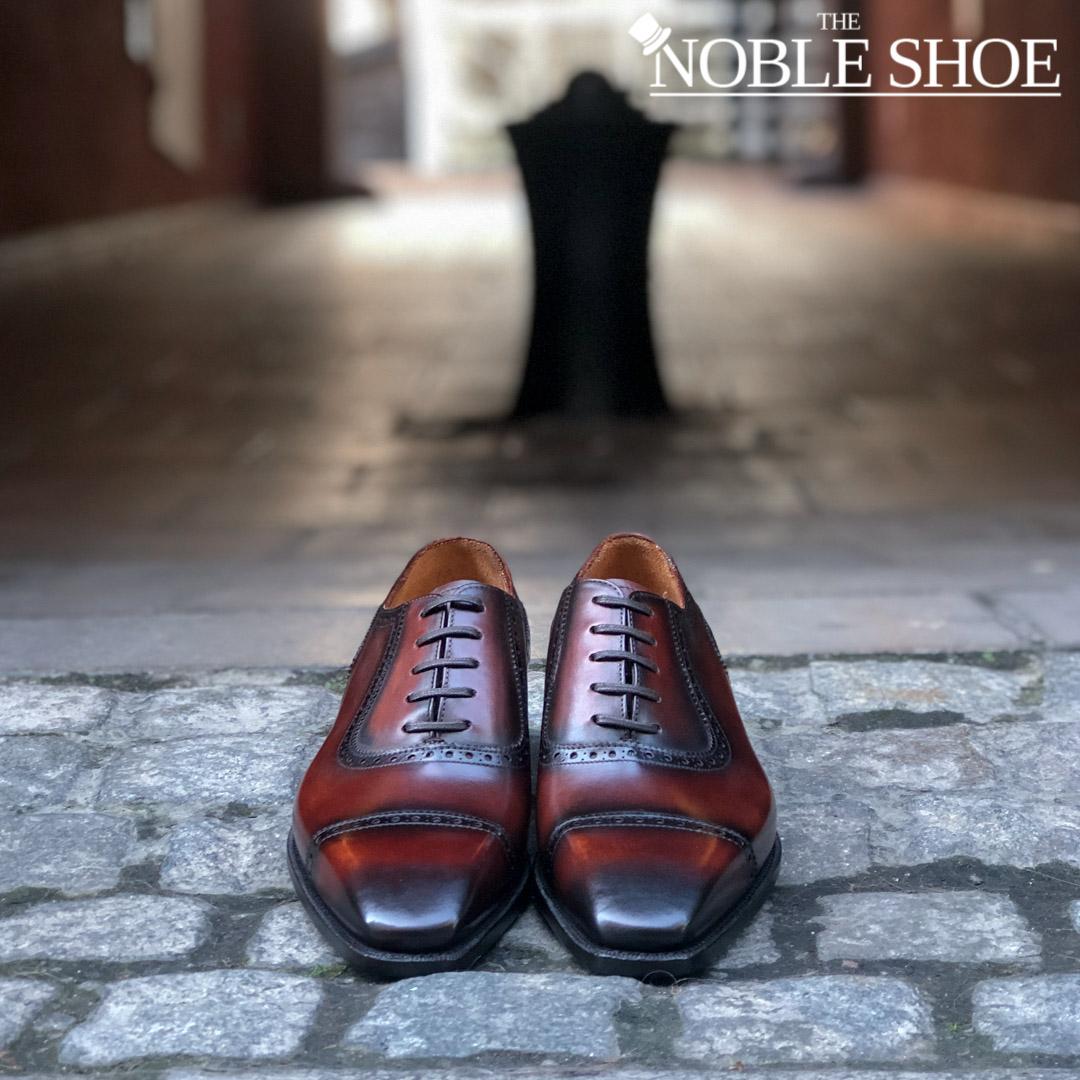 shoe news september 2019 - The Noble Shoe carlos Santos handgrade Adelaide Oxford