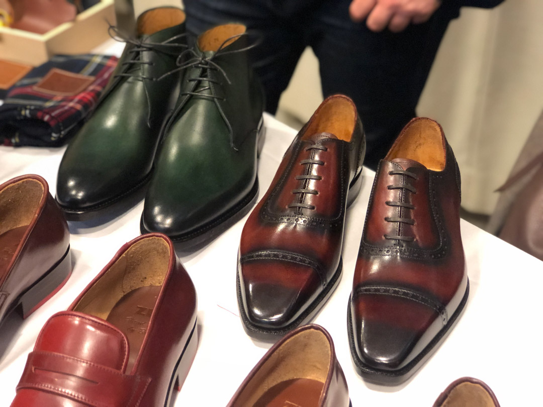 The Noble Shoe at the Shoegazing Stockholm Super Trunk Show 2019