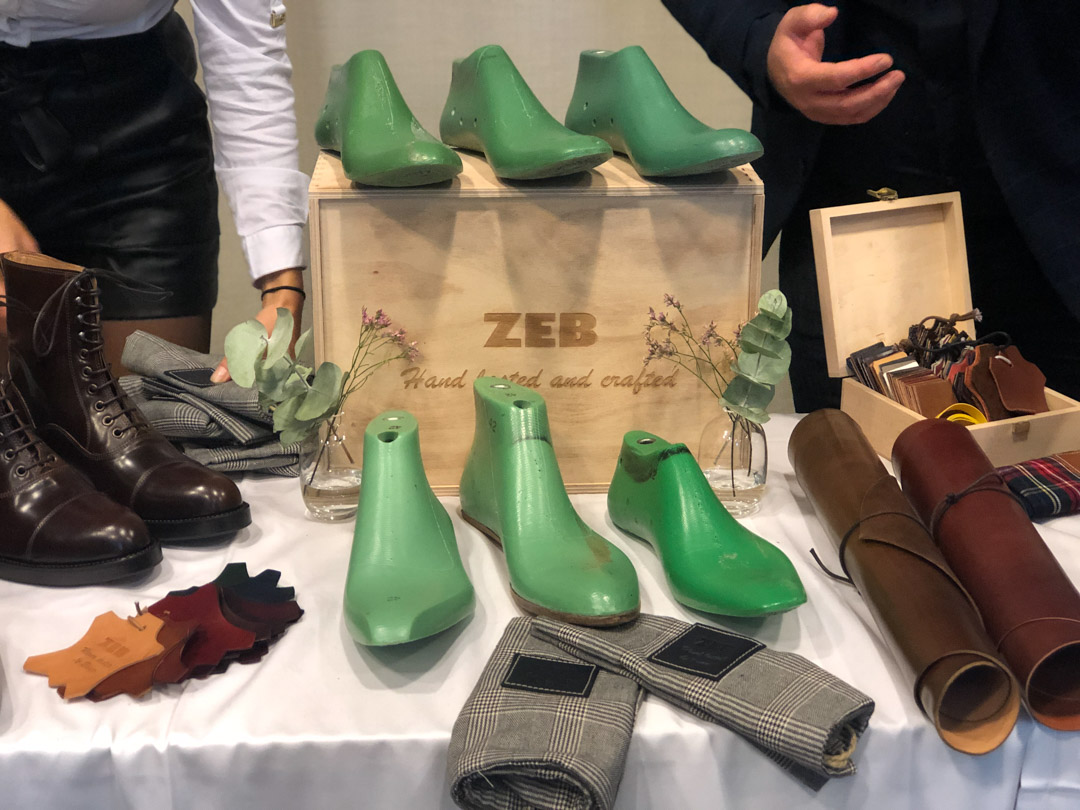 Zeb shoes and The Noble Shoe at the Shoegazing Stockholm Super Trunk Show 2019 lasts