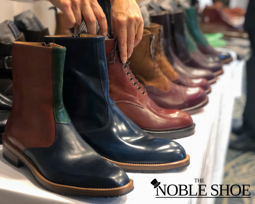 Zeb shoes and The Noble Shoe at the Shoegazing Stockholm Super Trunk Show 2019
